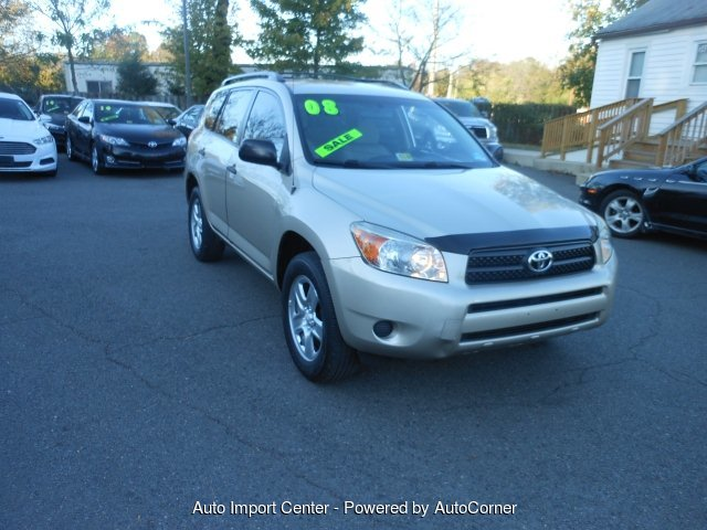 2008 Toyota RAV4 Base I4 4WD 4-Speed Automatic